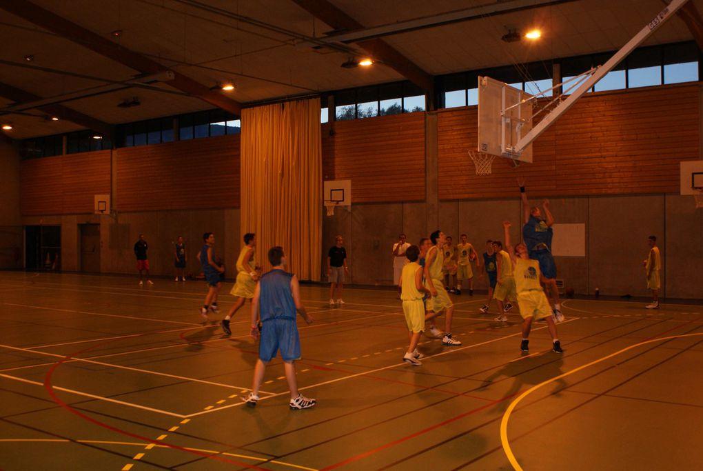 Séances basket Tournoi de soirée
