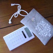 une pochette pour ma calculette !