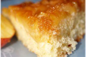 Gâteau Renversé moitié Breton, moitié Normand ... Pommes - Caramel