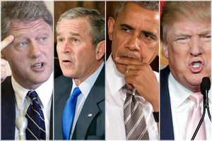 Un président tenu en otage Ils l'ont encerclé! A chaque demande de retrait des soldats US, les mêmes...