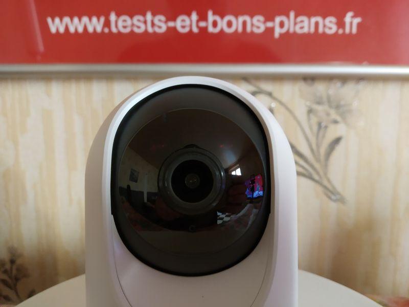 installation de la caméra de vidéosurveillance motorisée et connectée - eufy Indoor Cam 2K Pan & Tilt @ Tests et Bons Plans