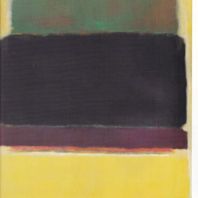 Pollock, Soulages , Rothko