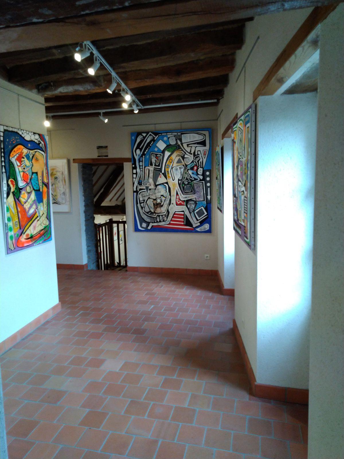 Exposition du 4 Février au 5 Avril au village d'artistes à Rablay sur Layon