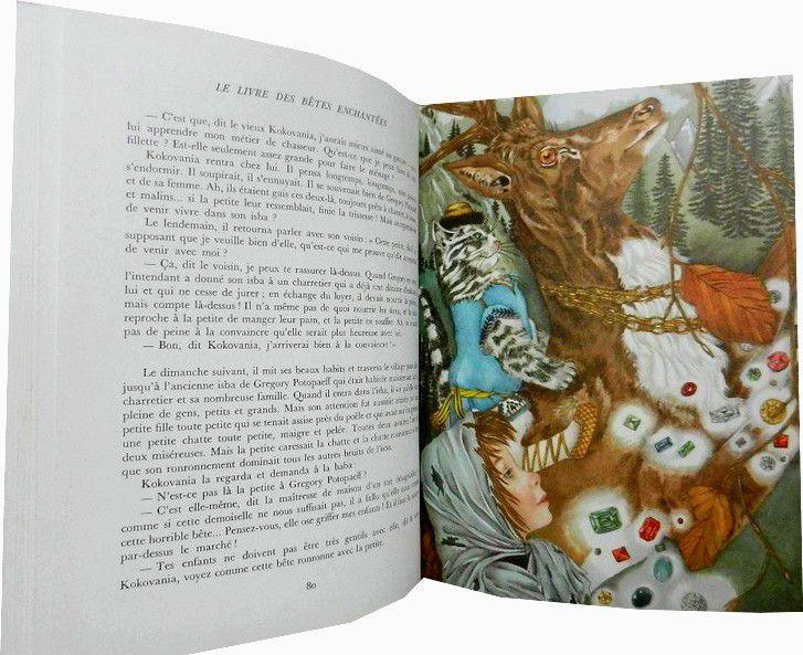Le Livre Des Bêtes Enchantees. - Adrienne Segur –Flammarion