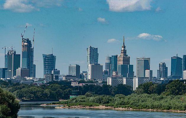 Varsovie, la capitale de la Pologne
