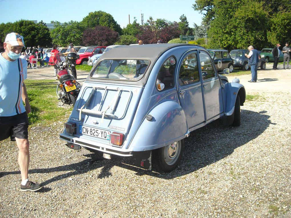 80 voitures anciennes chez Truffaut Villeparisis