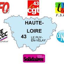 Déclaration syndicale commune en Haute Loire sur les Gilets Jaunes : juste le contraire du communiqué national !