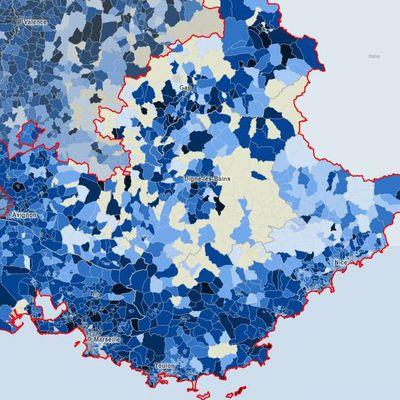 France 3 Provence-Alpes - Article Web : le taux d'incidence par commune en Paca
