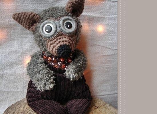 p'tit loup doudou au crochet