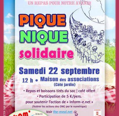 Pique-nique The Meal samedi 22 septembre 12h
