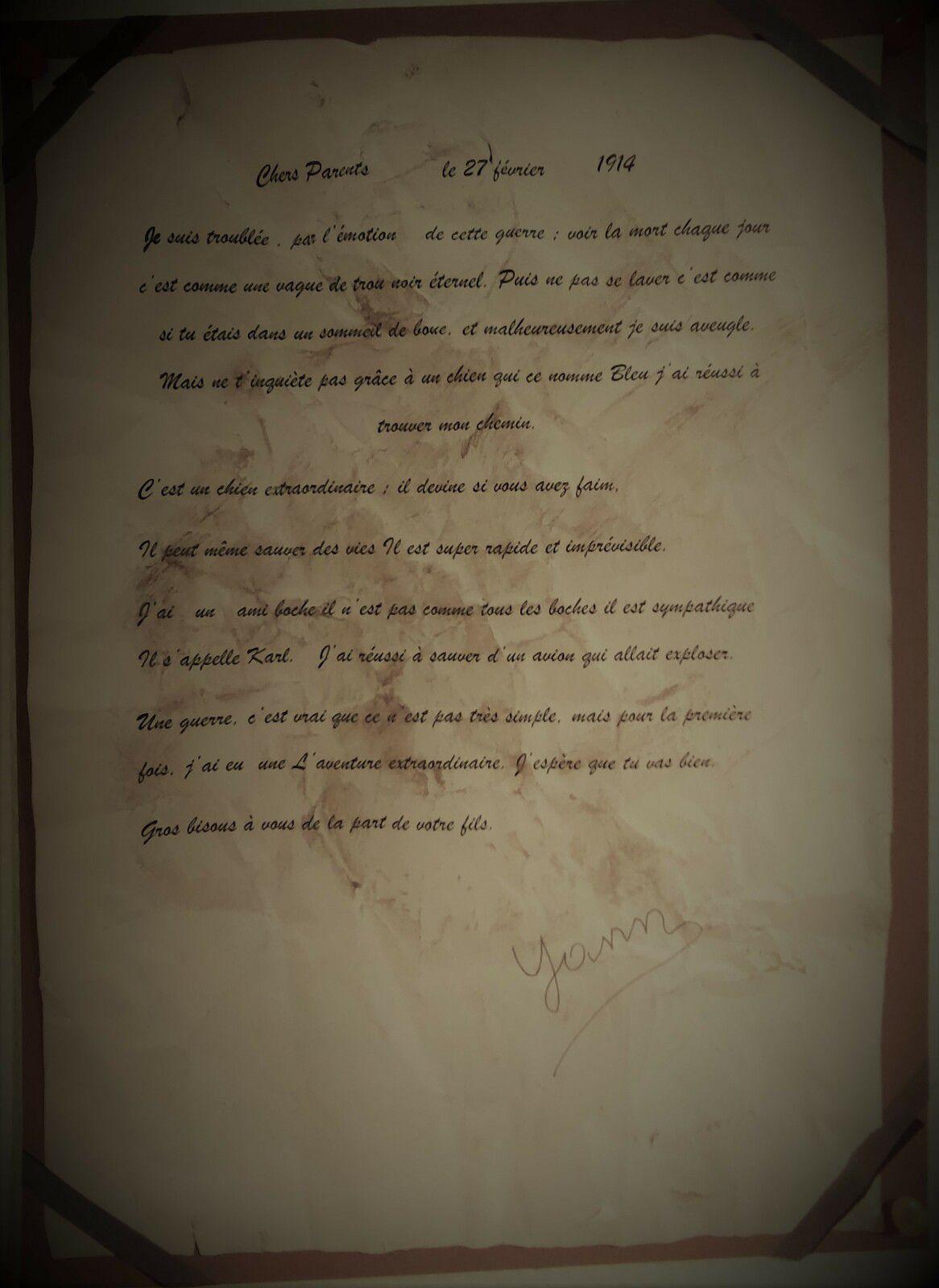 Lettres de poilus.