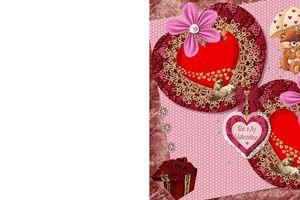 Carte à imprimer ~St valentin~