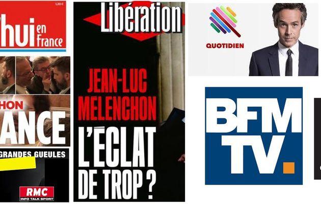 L'AFFAIRE MELENCHON POUR FAIRE OUBLIER BENALLA !