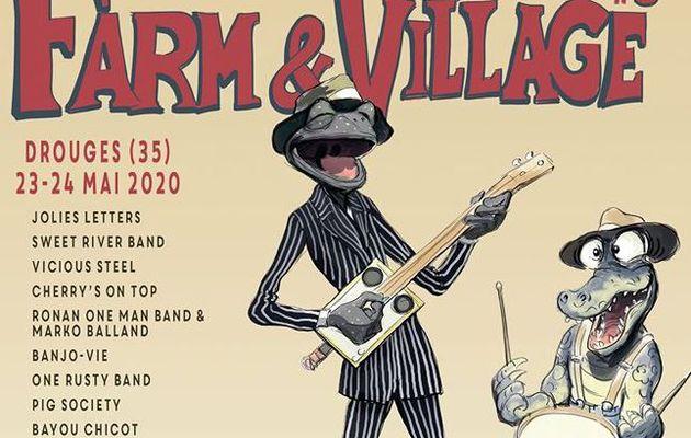 """Festival de blues """"Farm & Village"""", les 23 & 24 mai à Drouges en Bretagne"""