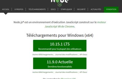 Préparer son environnement de développement avec Angular