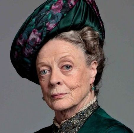 Maggie Smith - portrait