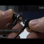 MICRO CASQUE BLUETOOTH MAGNETIQUE intra-auriculaire - INNOVATION - [PEARLTV.FR]