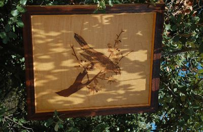 Les marqueteries de Guadeloupe Champagnac - art dans la nature 2011
