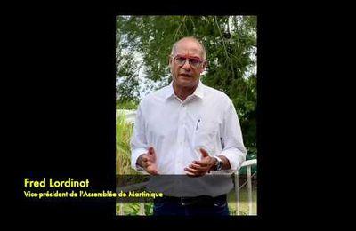 Martinique: Fred LORDINOT dénonce les élus qui encouragent les supremacistes Noirs .