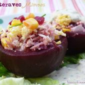 Betteraves mimosa, Recette Ptitchef