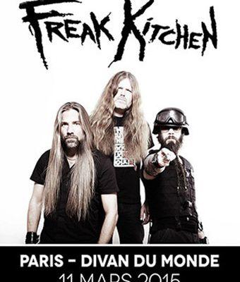 Agenda : Freak Kitchen au Divan du Monde, le 11 mars 2015