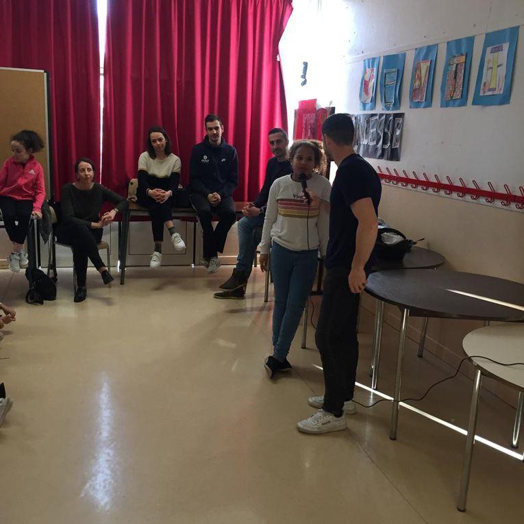 Rencontre avec les élèves de Cpb - Ce1/Ce2 - Ce2 - Cm1A - Cm2B