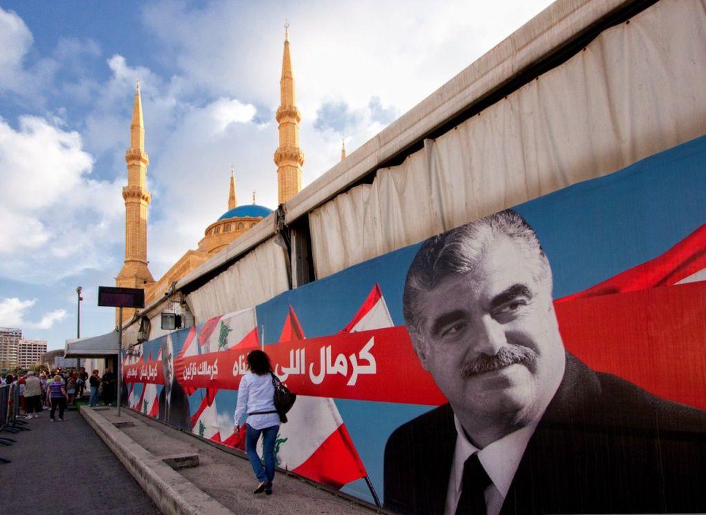 Nous sommes arrivés à Beyrouth en mai 2011 et avons traversé le Liban à travers le Mont Liban et l'Anti Liban via la plaine de la Beekka jusqu'à Baalbek.La situation était tendue, beaucoup d'hommes en armes, des chek point partout.Près de la f