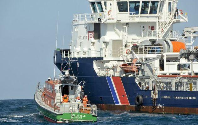 Exercice Polmar entre l'île de Groix et la région de Lorient