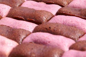 Mini-financiers chocolat et framboise