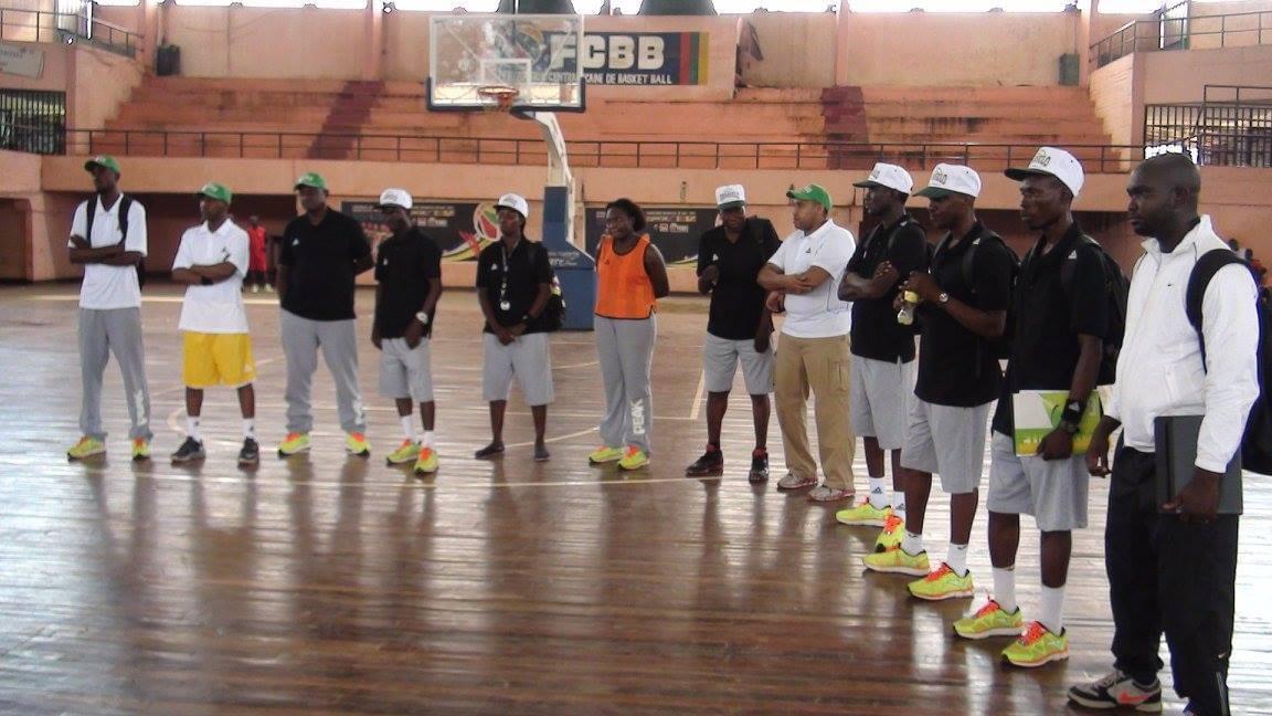 Guy Maurice Limbio veut redynamiser le basket Centrafricain par le biais d'un programme ambitieux