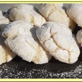 Amaretti au Citron ( Macaron Italien) - Oh, la gourmande..