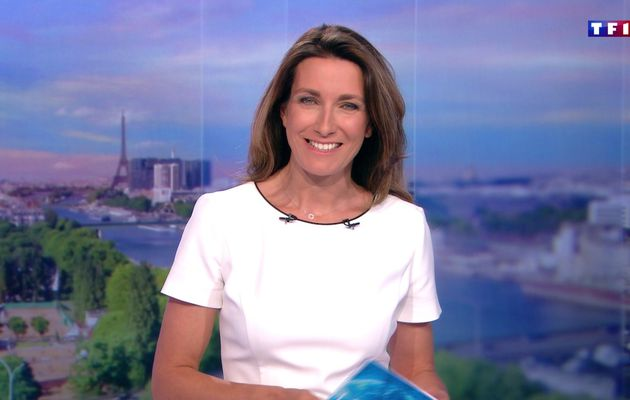📸16 ANNE-CLAIRE COUDRAY @ACCoudray @TF1 @TF1LeJT pour LE 20H WEEK-END #vuesalatele