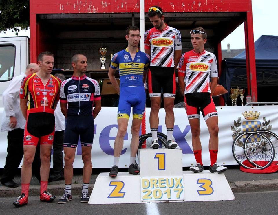 Critérium de Dreux (28) du 20/6/17 : les photos du vainqueur et des podiums