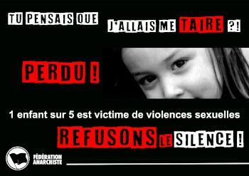 Pédophile '' Refusons le Silence''