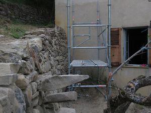 Réalisation et remise en état de murs de pierres sèches