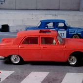 PEUGEOT 404 ORANGE 1960 AVEC TOIT OUVRANT NOREV 1/43 - car-collector.net