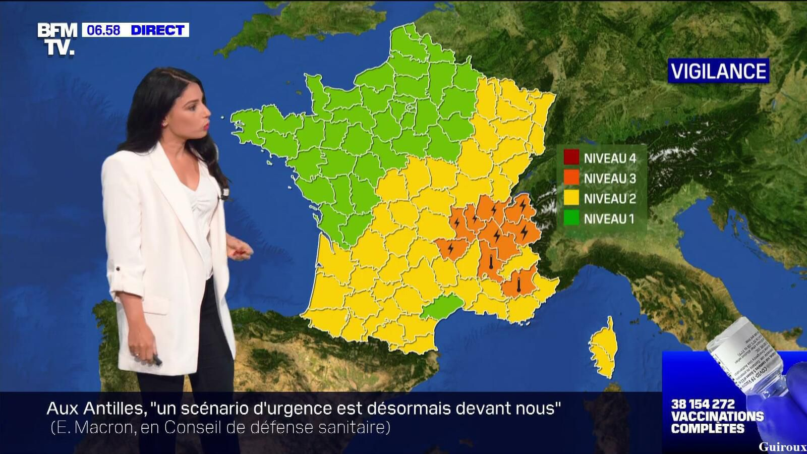 Virginie Hilssone-Lévy 12/08/2021 BFMTV