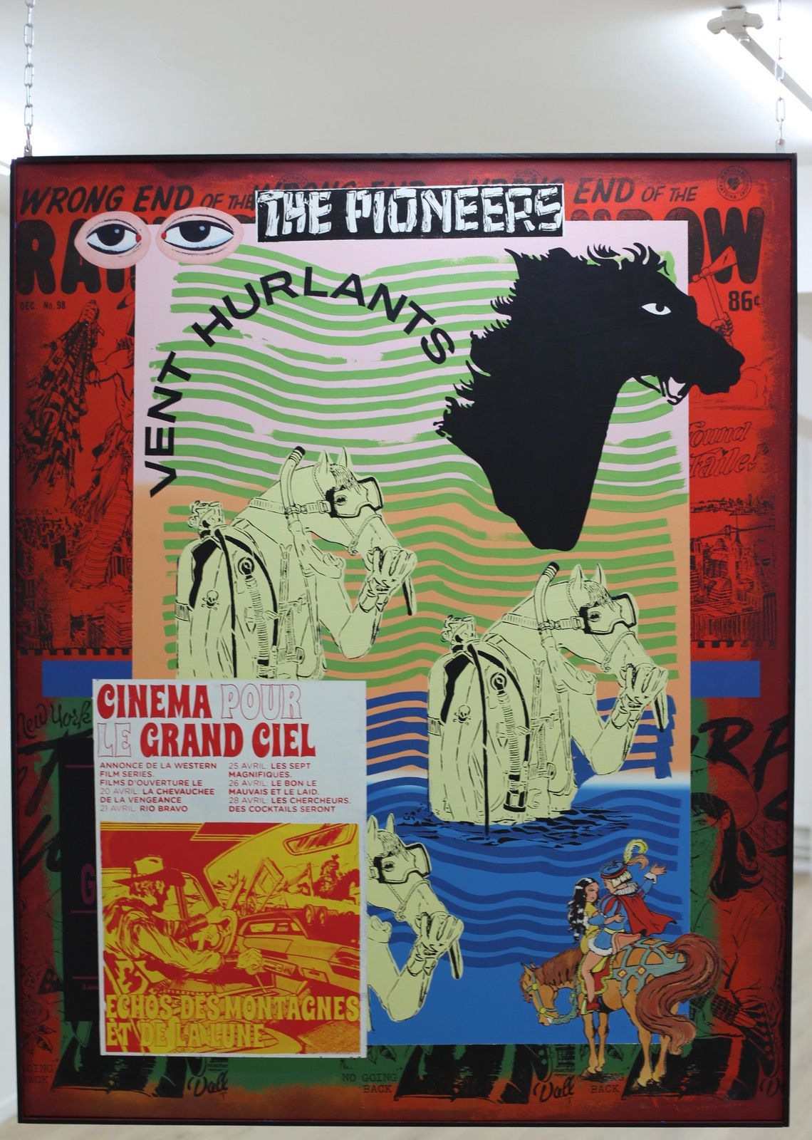 """""""The Pionneers"""", 2020 de FAILE - Courtesy Galerie Danysz - Paris © Photo Éric Simon"""