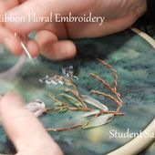 My Sweet Prairie: Silk Ribbon Floral Embroidery Class, Second Time Around