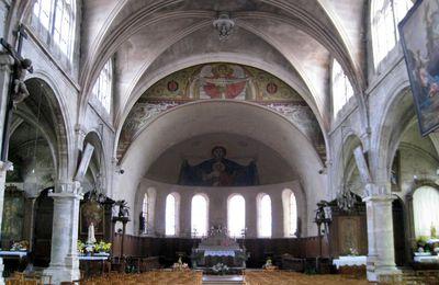 """Tableau """"La Sainte Trinité"""", église Notre-Dame de Pontoise"""
