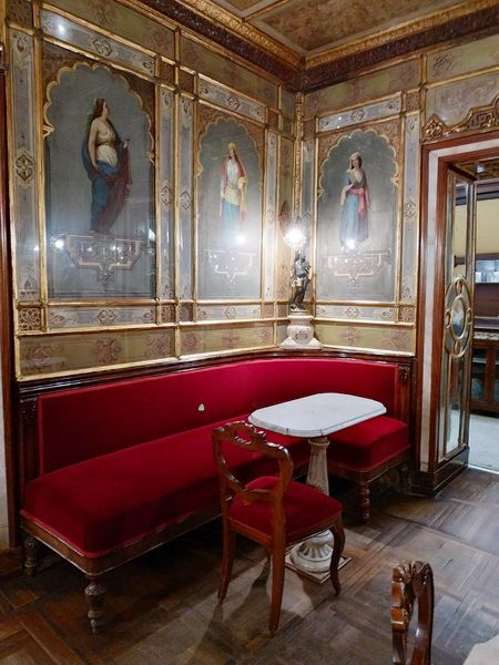 VENISE : le Café FLORIAN par Alain Escaudemaison
