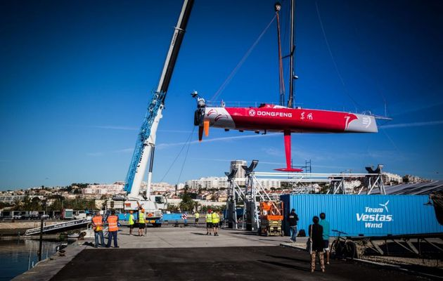 Volvo Ocean Race - Start of the refit process of the 7 VOR 65