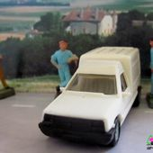 RENAULT 5 EXPRESS BLANCHE VEREM 1/87 - car-collector.net