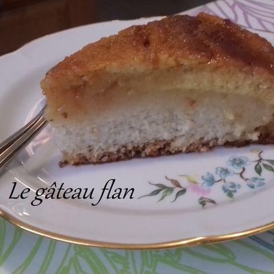 Le gâteau flan