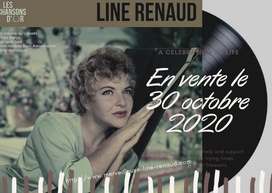 SHOPPING: Les Chansons d'Or - Line Renaud (Vinyl) sortie le 30/10/2020