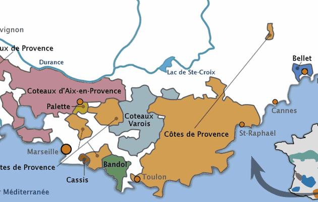 La Provence vitivinicole...