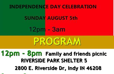 Benin Independence Day in Indiana.