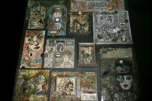 Mon canvas Steampunk  60x60 ....