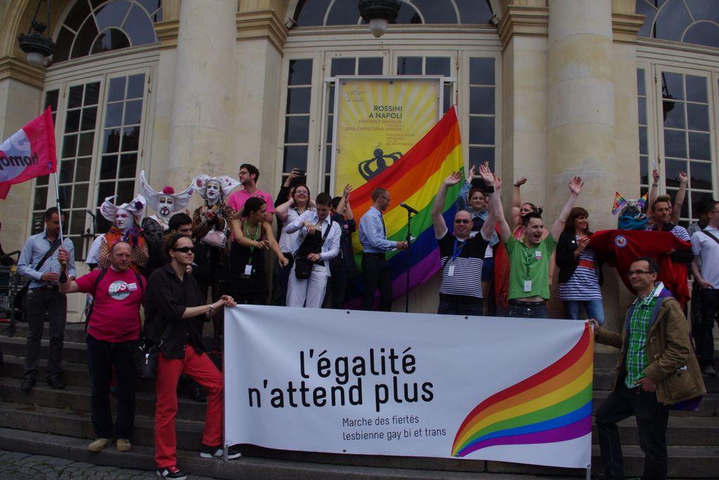 Samedi 9 juin, se déroulait à Rennes, la marche des Fiertés LGBT. Ce sont plus de 3 000 personnes qui étaient présentes. Un record de participation