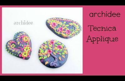 Tuto : Comment faire un pendentif avec des petites fleurs et feuilles en fimo